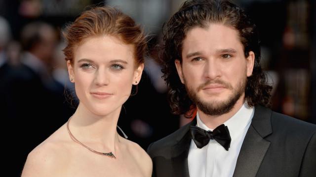Conto de fadas: Atores de 'A Guerra dos Tronos' vão casar-se num castelo