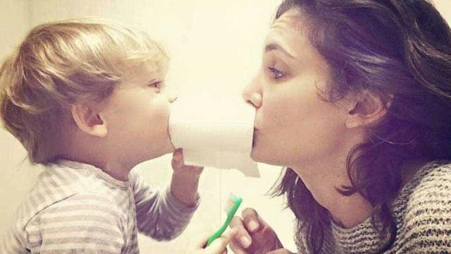 """""""Para que servem as maminhas?"""". A conversa de Daniela Ruah com o filho"""