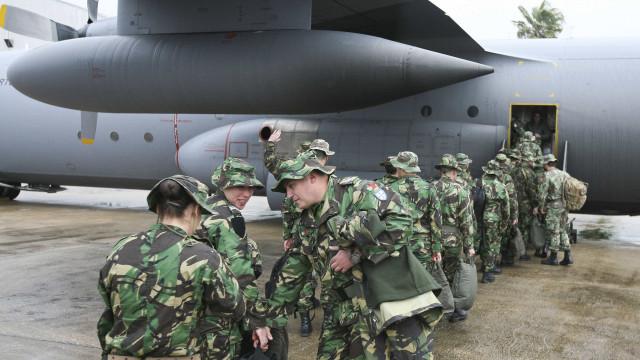Portugal reforça missão da NATO no Afeganistão em maio com 146 militares