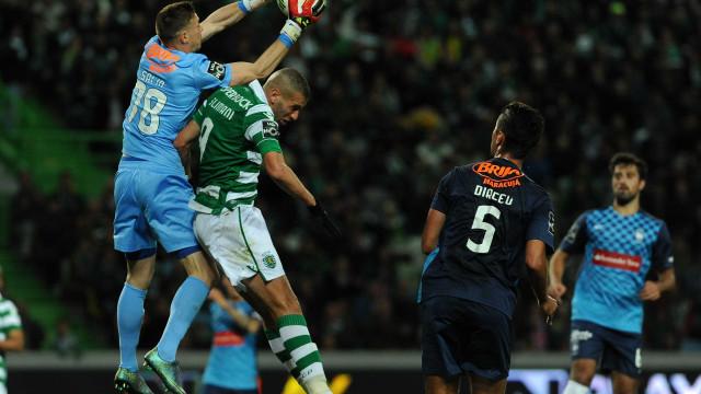 Romain Salin a caminho de Portugal para assinar pelo Sporting