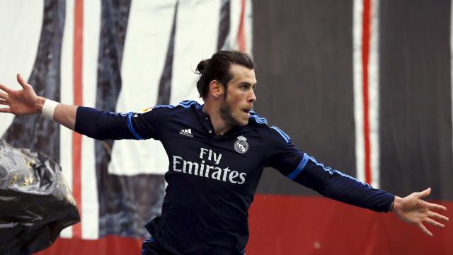 Manchester United com concorrência do Chelsea na corrida por Bale