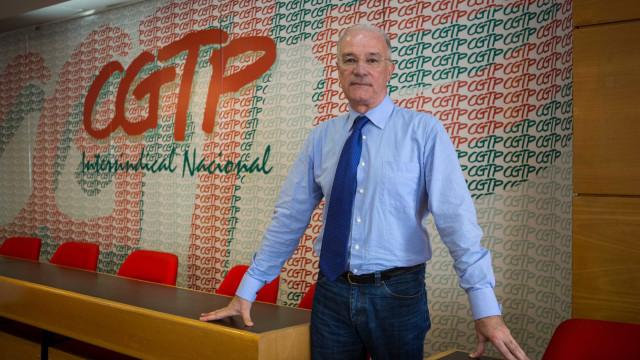 Plenário de sindicatos da CGTP aprova sexta-feira orientação para 2018