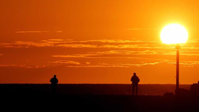 Continente com risco muito elevado de exposição à radiação UV