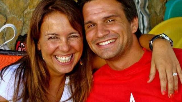 Tânia Ribas de Oliveira celebra nove anos de casamento