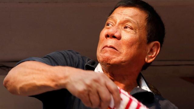 """Rodrigo Duterte descreve líder da Coreia do Norte como um """"maníaco"""""""