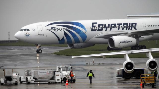 Encontrada uma das caixas negras do avião da EgyptAir
