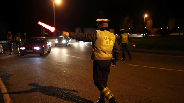 GNR realiza 34 detenções em território nacional em 12 horas