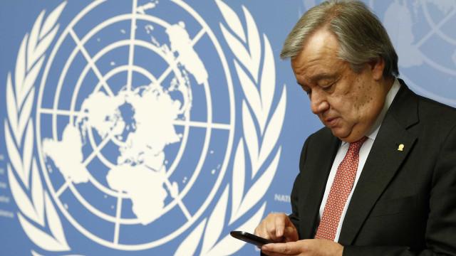 Costa manifesta a Guterres apoio de Portugal à reforma das Nações Unidas