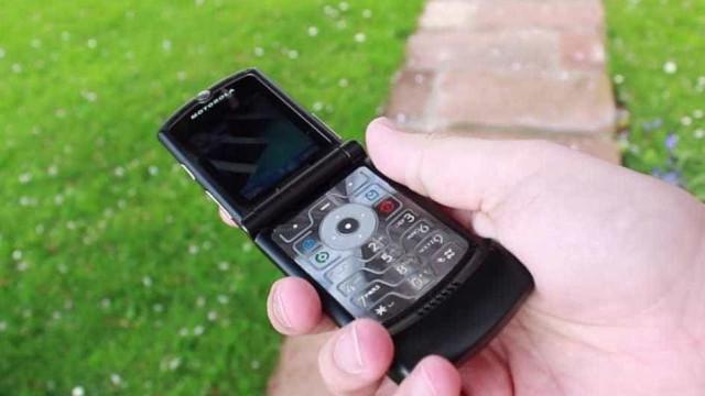 Um dos mais icónicos telemóveis da Motorola pode estar de volta