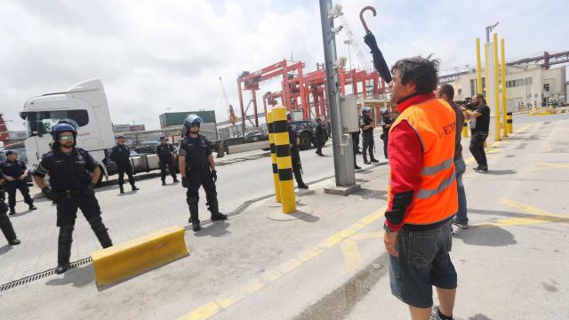 PCP critica postura do Governo no Porto de Setúbal e defende retirada