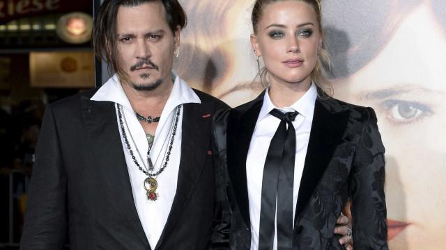 """Johnny Depp sobre separação de Amber Heard: """"Não aguentei"""""""