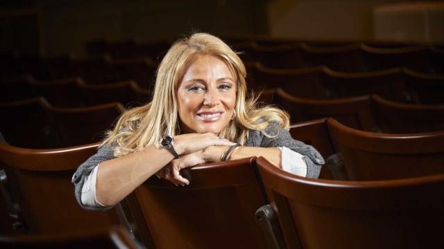 Alexandra Lencastre orgulhosa da filha... que já faz sucesso no teatro