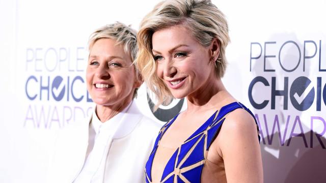 Tempestade levou Ellen DeGeneres e companheira a fugir de casa