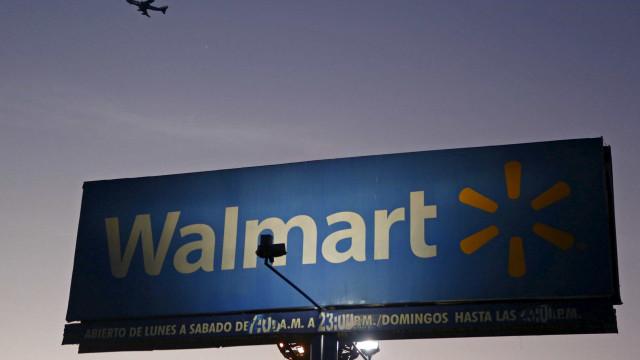 Lucro da Walmart recua 61,2% até outubro para 2.637 milhões