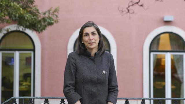Ana Catarina Mendes presente no encerramento da convenção do Bloco
