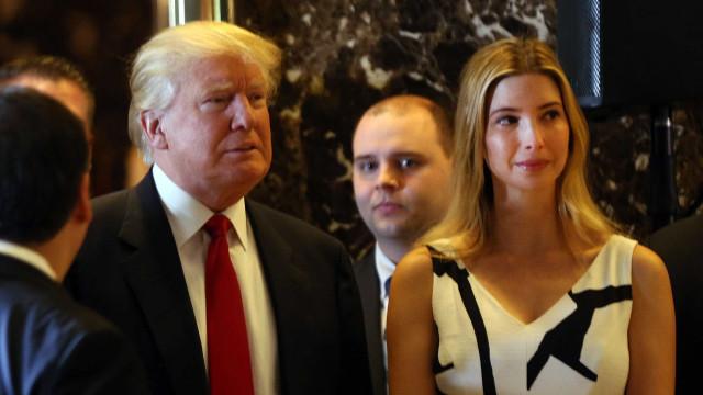 Trump diz que Ivanka é a melhor pessoa para assumir cargo na ONU