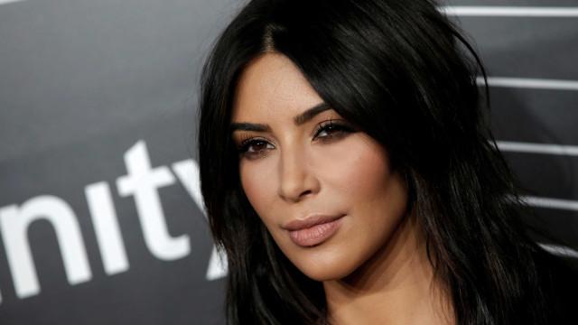 Kim Kardashian almoça com o 'ex' da irmã