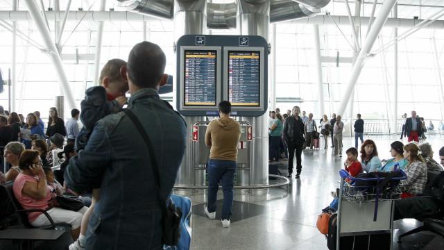 Passageiros nos aeroportos portugueses subiram 7,2% para 27,4 milhões