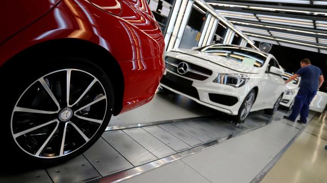 Vendas no setor automóvel cresceram 12,2% em julho