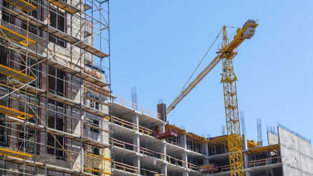 Produção na construção sobe em abril com Portugal acima da média da UE