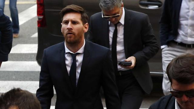 Messi obrigado a pagar multa de 252 mil euros para evitar prisão