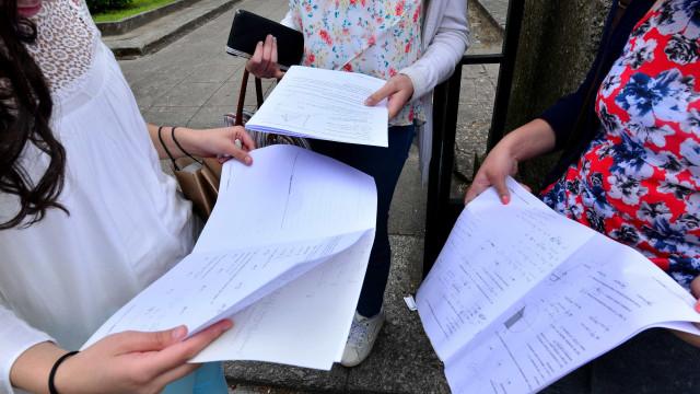 """Exames da 2.ª fase com resultados """"em regra inferiores"""" aos da 1.ª fase"""