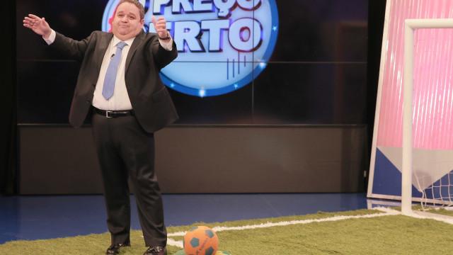"""Após perder 30 quilos, Fernando Mendes é elogiado: """"Estás um borracho"""""""