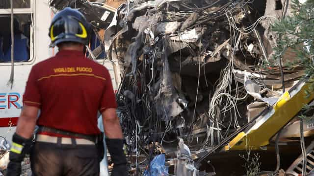 Nos últimos cinco anos houve 13 acidentes ferroviários graves na Europa