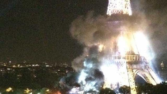 ISIS reclama autoria de pequeno incêndio junto à Torre Eiffel