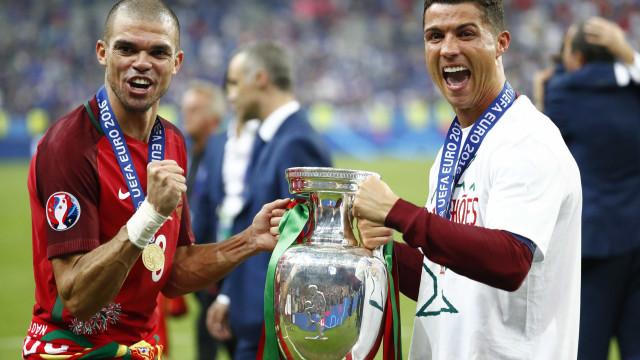 """""""Pepe foi o melhor jogador do Euro'2016"""""""