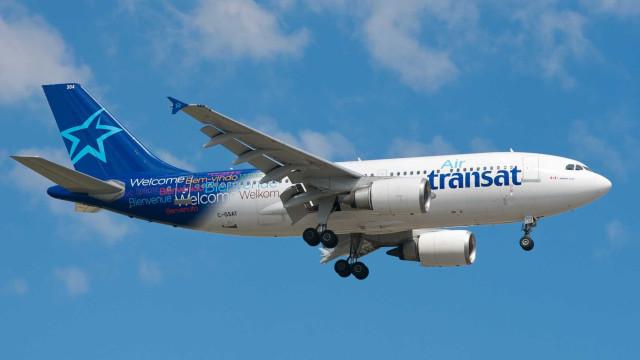 """Avião da Air Transat regressa ao Porto devido a """"problemas técnicos"""""""