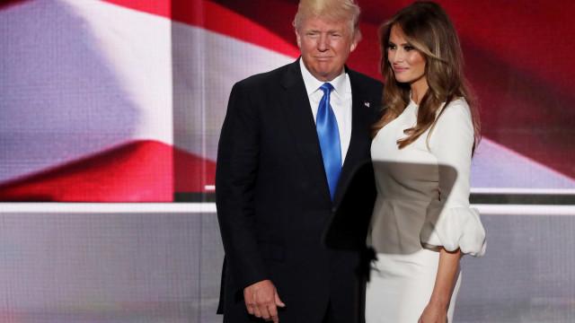 Donald e Melanie Trump concluem visita ao Reino Unido com visita a rainha