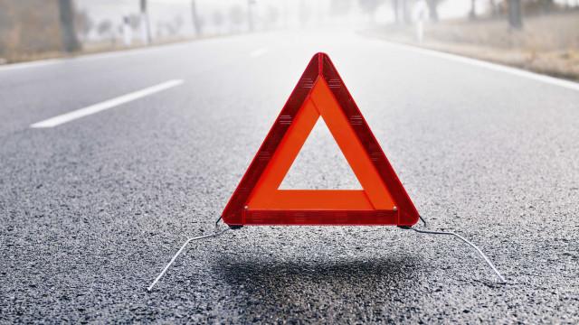 Despiste em Vila Nova da Barquinha faz três feridos graves