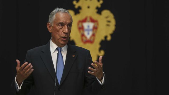 Marcelo evita pronunciar-se, mas insiste em debate sem falar em referendo