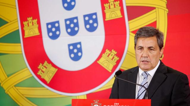 Fernando Gomes deixa mensagem a Luisão