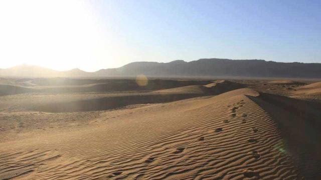 Britânico encontrado com vida após três dias desaparecido no deserto