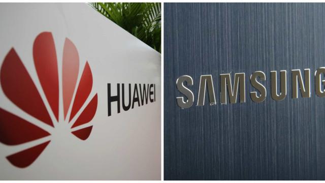 Tribunal dá razão à Huawei em 'guerra' de patentes com a Samsung