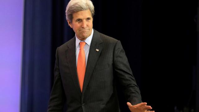 John Kerry visita hoje norte-americano ferido em Nice
