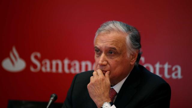 Lucro do Santander em Portugal sobe 16% até junho em termos homólogos