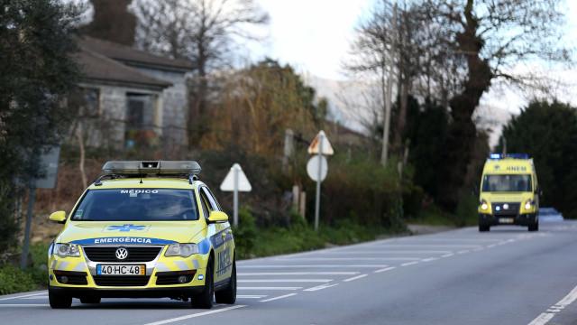 Despiste em Coimbra faz quatro feridos. IC6 está cortado ao trânsito