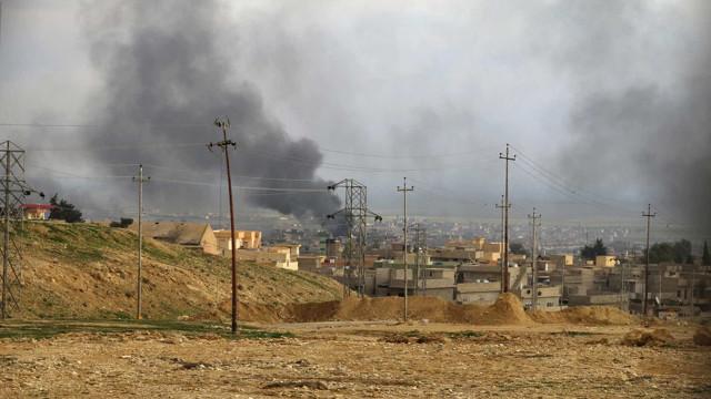 EUA atacaram acampamento do Estado Islâmico e mataram 17 terroristas