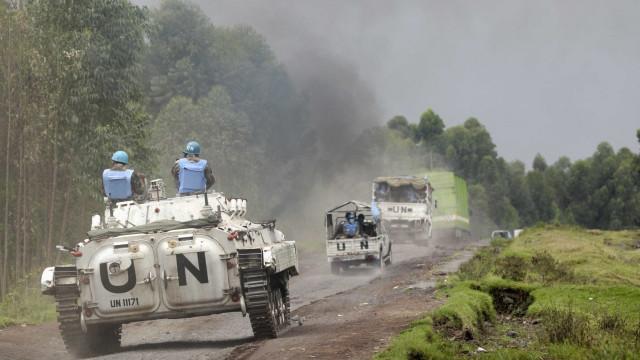 Dois capacetes azuis desaparecidos em novembro procurados pela ONU