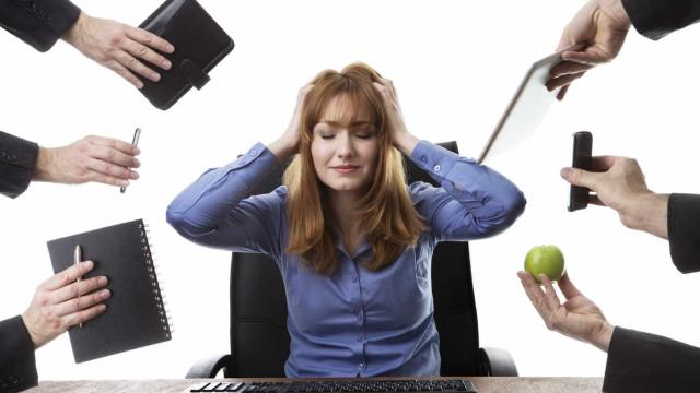 Um em cada três trabalhadores em risco de 'burnout'
