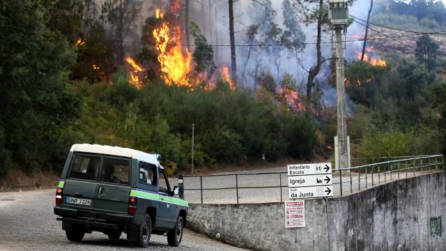 GNR identificou suspeito de atear fogo em São Pedro do Sul