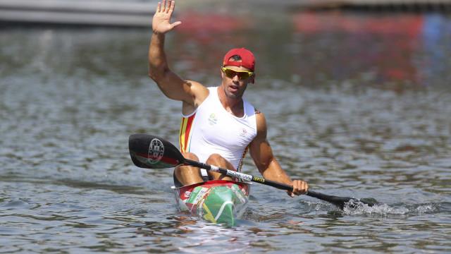 Fernando Pimenta conquista prata em K1 5000