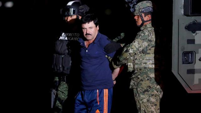 'El Chapo' condenado a pena de prisão perpétua