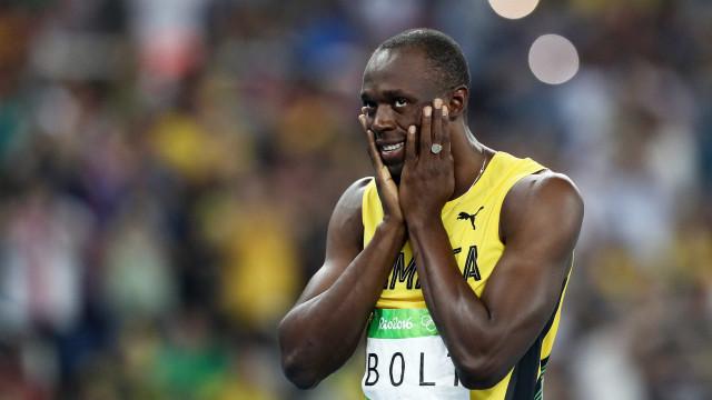 Na hora do adeus, Bolt fica em terceiro lugar