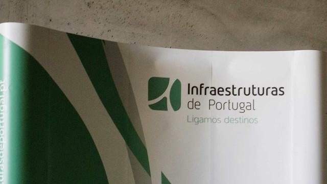 Trabalhadores das Infraestruturas de Portugal em greve em 12 de março