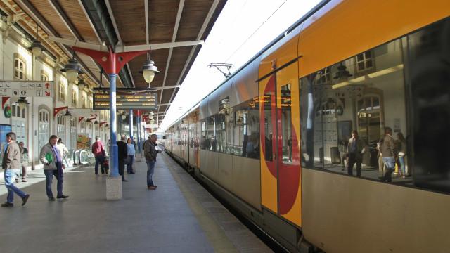 Greve dos revisores da CP suprimiu 708 comboios até às 18h00