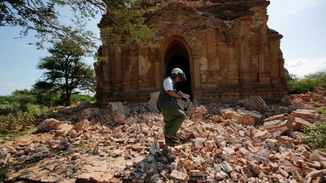 Sismo de magnitude 6 em Myanmar
